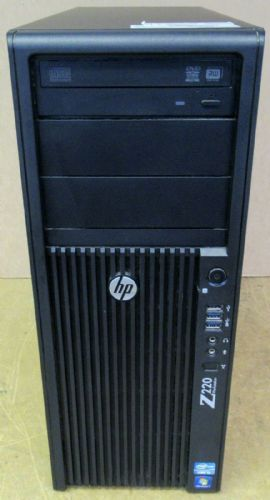 HP Z220 CMT WorkStation Intel Core i3-3220 3.30GHz 8GB RAM 250GB HDD CZC25205NH